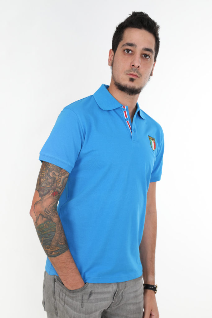 Sweats Of London Blue Mens Polo Shirt 4