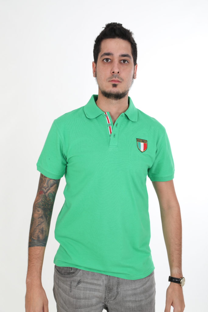 Sweats Of London Green Mens Polo Shirt 5