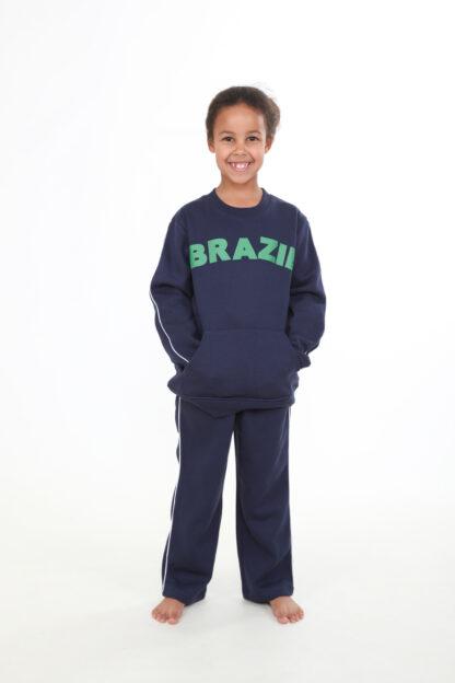 Sweats Of London Kids Navy Sweatpants Trousers 2